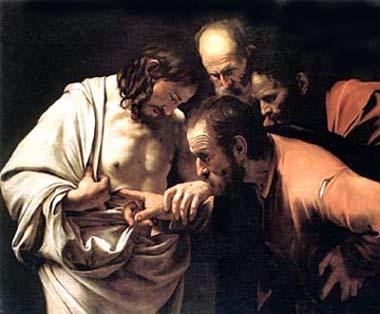 Ritratto di San Tommaso Apostolo con Gesù