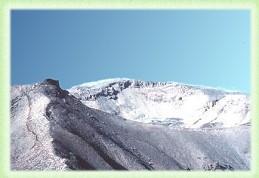 Il crinale e la vetta di Monte Amaro